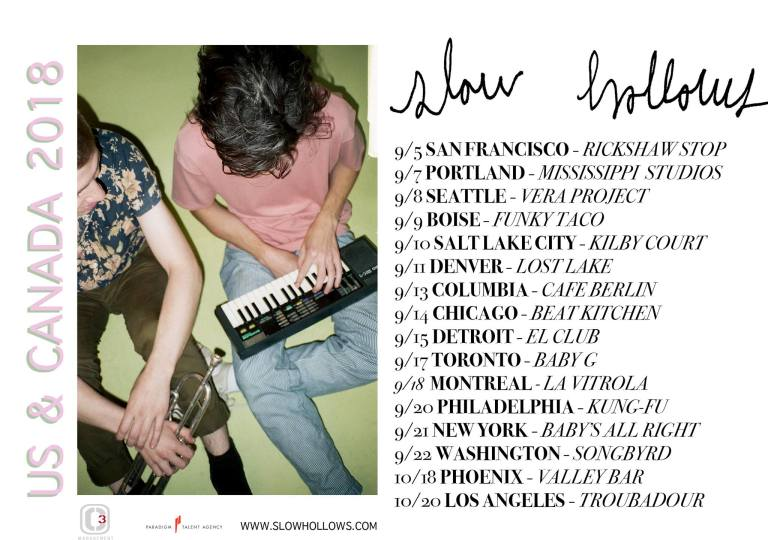 slow hollows tour